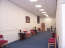 New reception area for welcoming congregation