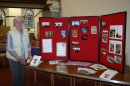 Records, photos and artifacts were on display to the public over the weekend