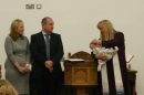 Jemimah is baptised