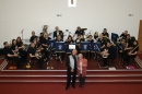 The Band with their conductor Terry Jackson & Mary Daun
