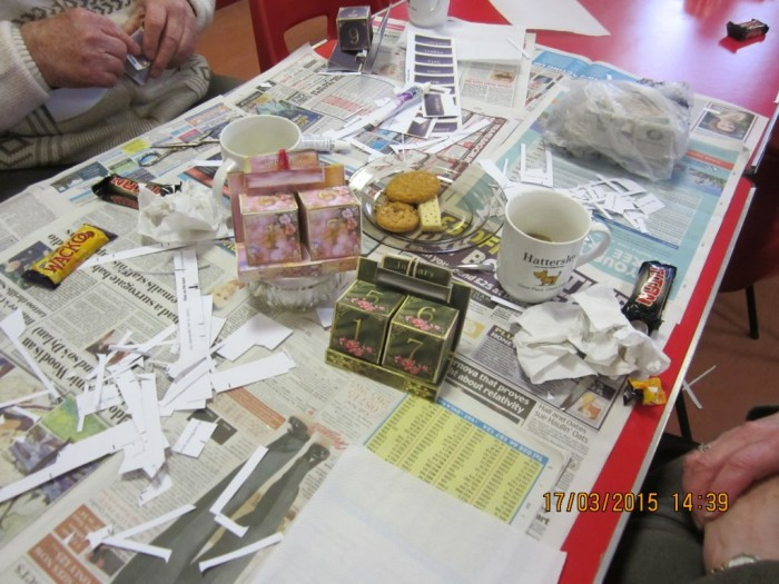 Friendship Club goes crafty
