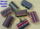 Woven needle-cases