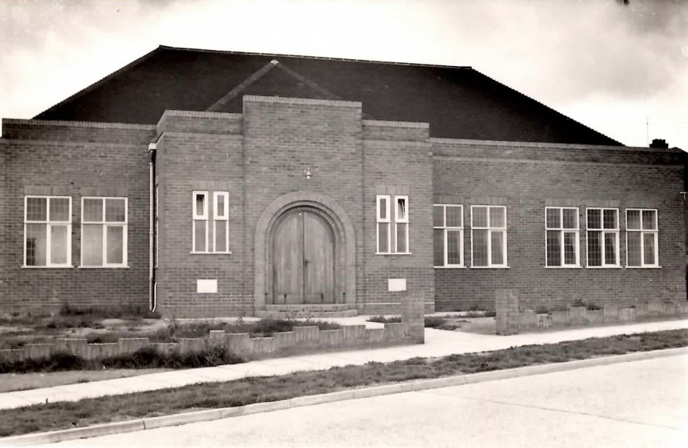 St Andrews Baptist Church when first built.