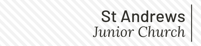 Junior Church page banner