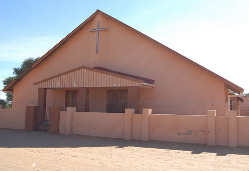 A church in Namibia