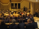 Packed church