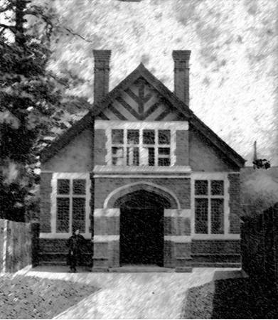First photograph of Bearwood Chapel