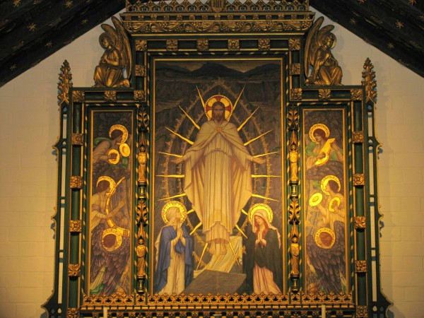 Lady Chapel reredos