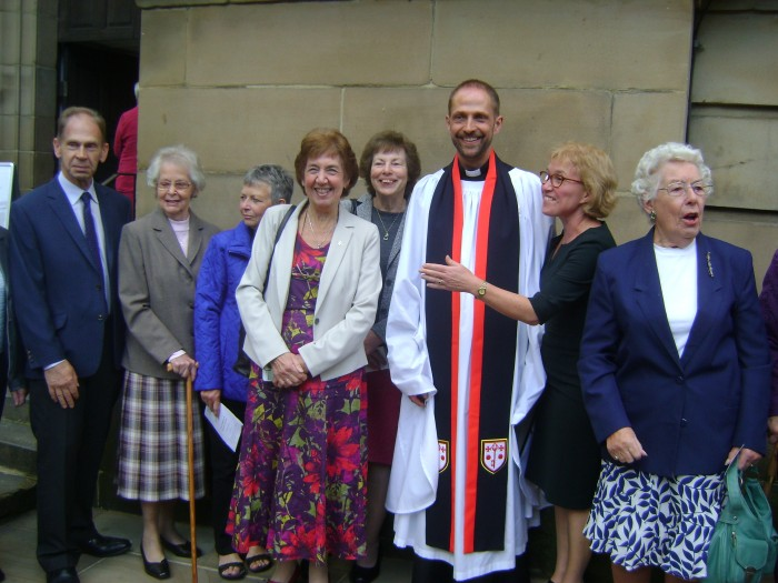 Matthew being made an honorary canon, 2nd October 2016