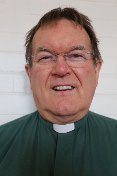 Picture of the Rev Peter Thorn, vicar of St John's Flixton