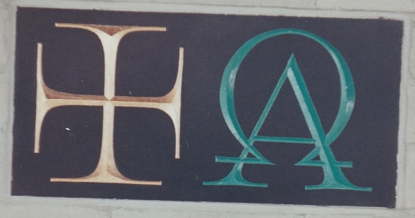 The 'Alpha and Omega' cornerstone