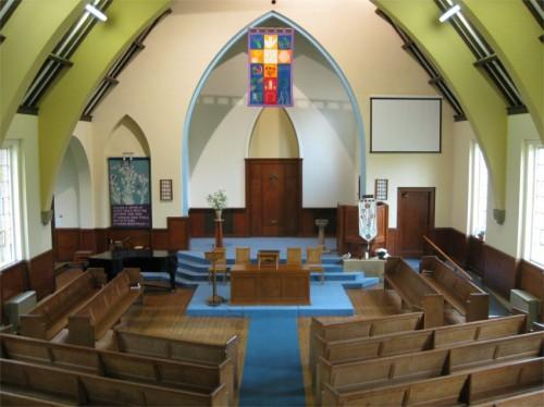 Church Interior looking from the organ balcony