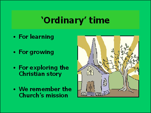 Ordinary Time – Diocese of Kerry