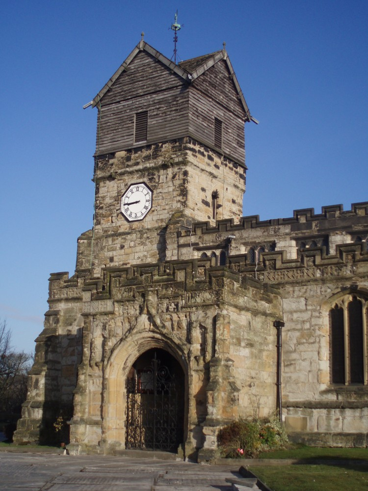 Small picture of church tower