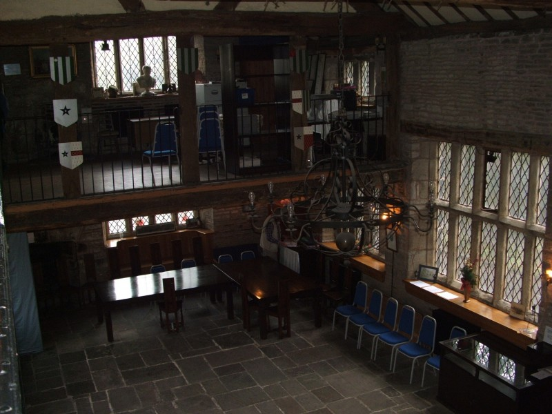 View across to gallery room
