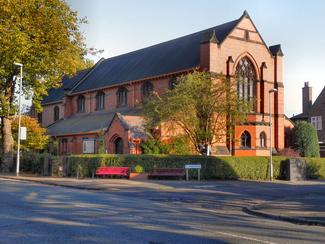 photo of St Chad's church building