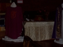 Display of vestments and frontals