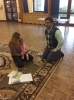 Father & Daughter & Sunday School helper