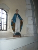 St Mary figure that stands in Church