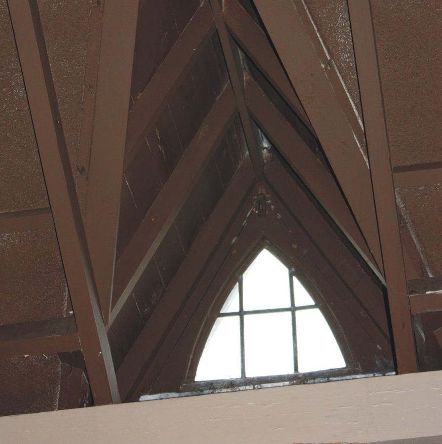 St Cuthberts - Skylight detail