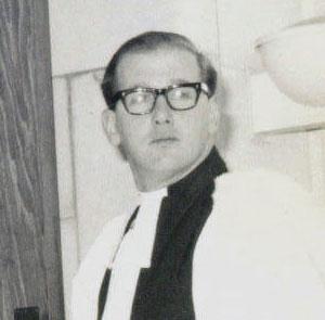 Rev Derek Tansill
