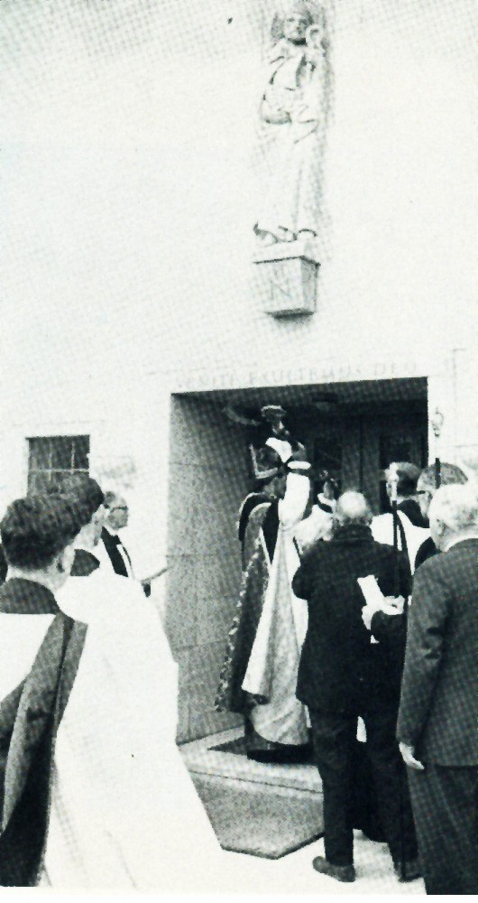 Bishop at the door May 1965