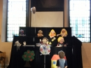 Puppets performing 2