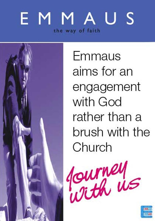 Emmaus flyer and link to more info