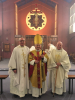 Bishop of Beverley, Fr Ian & Fr David