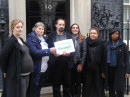 Open 'End Hunger petition handed in'