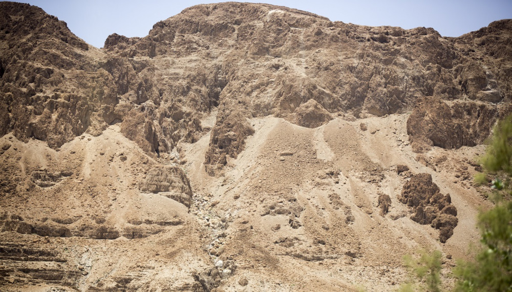 A photo of the desert in Israel