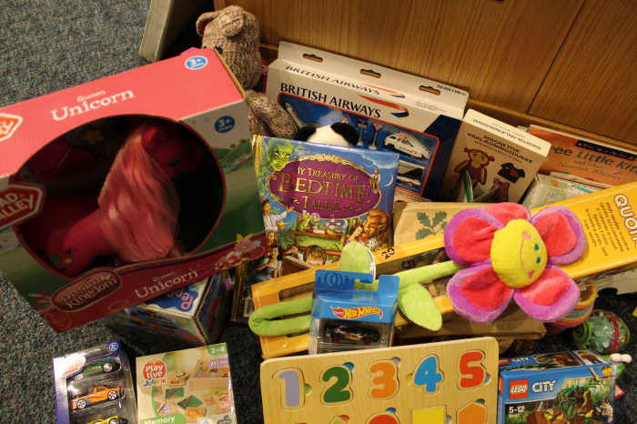 Gifts donated to the Salvation Army at our Toy Service
