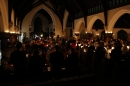 Congregation at the Candlelit Carol Service