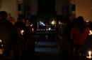 Altar at the Candlelit Carol Service