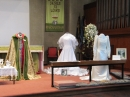Display of Wedding Dresses