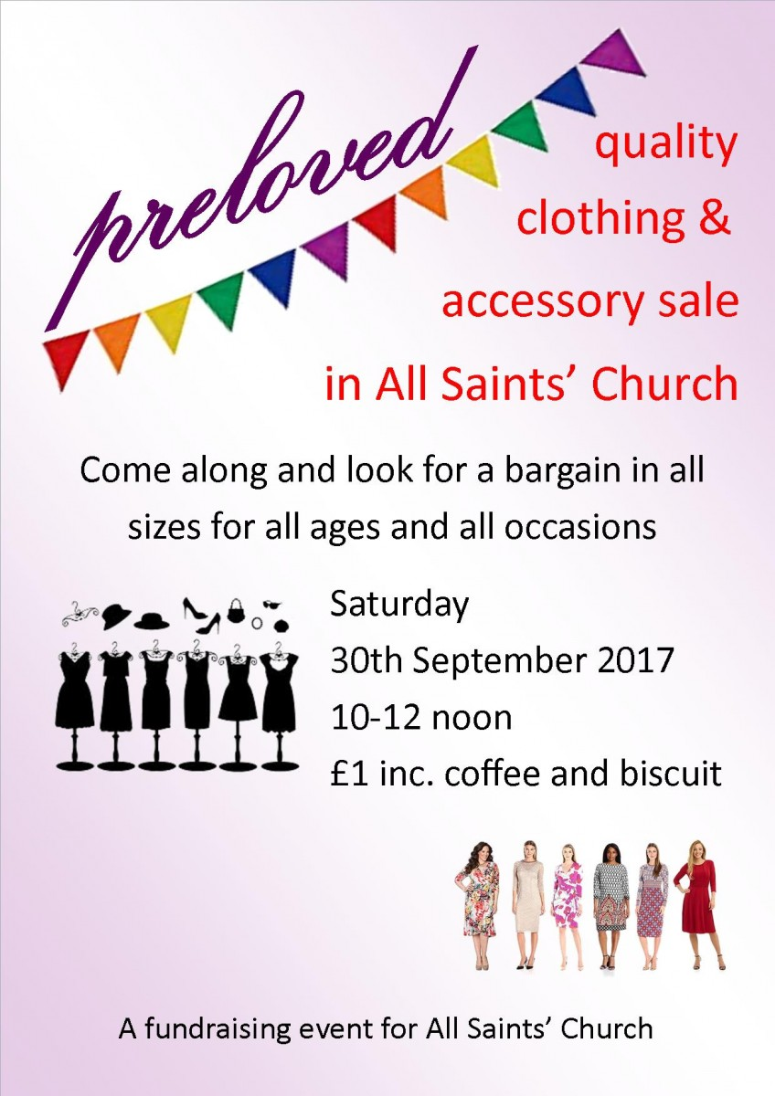 All Saints Church   preloved quality clothing and accessories sale