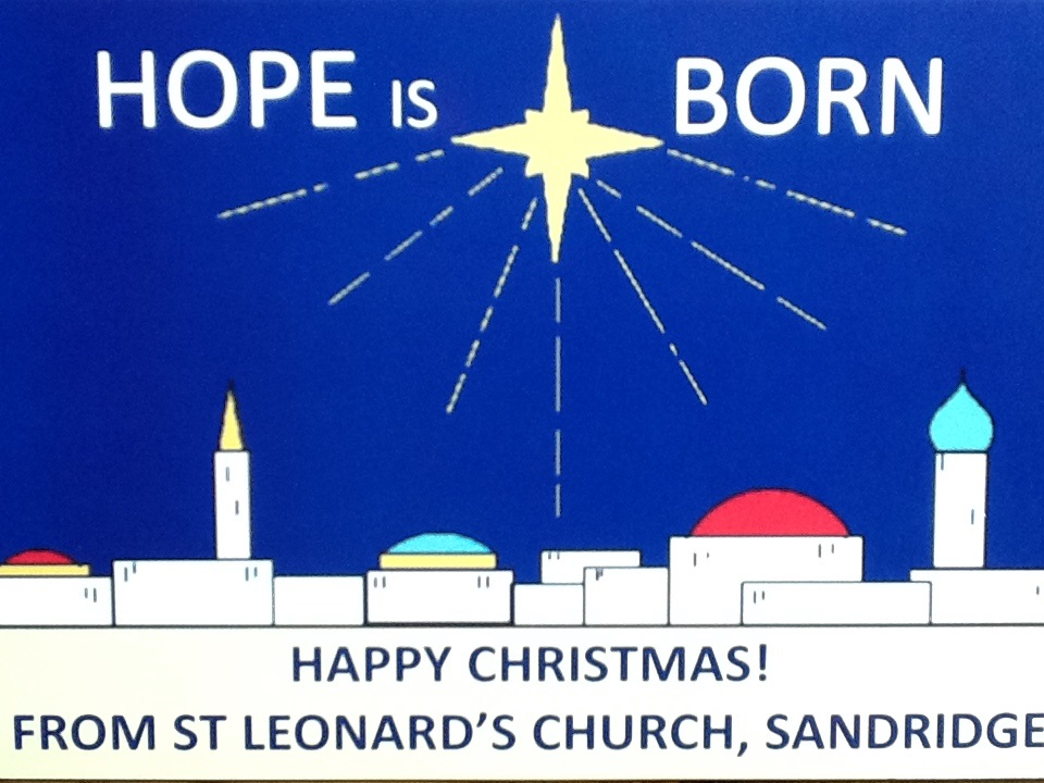 Christmas card - Hope is Born
