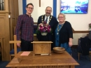 Chapel Anniversary - William with  Cllr Paul and Mrs Carol Bell