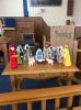 Our Nativity scene