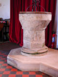 Photo of the Font All Saint's Somerford Keynes