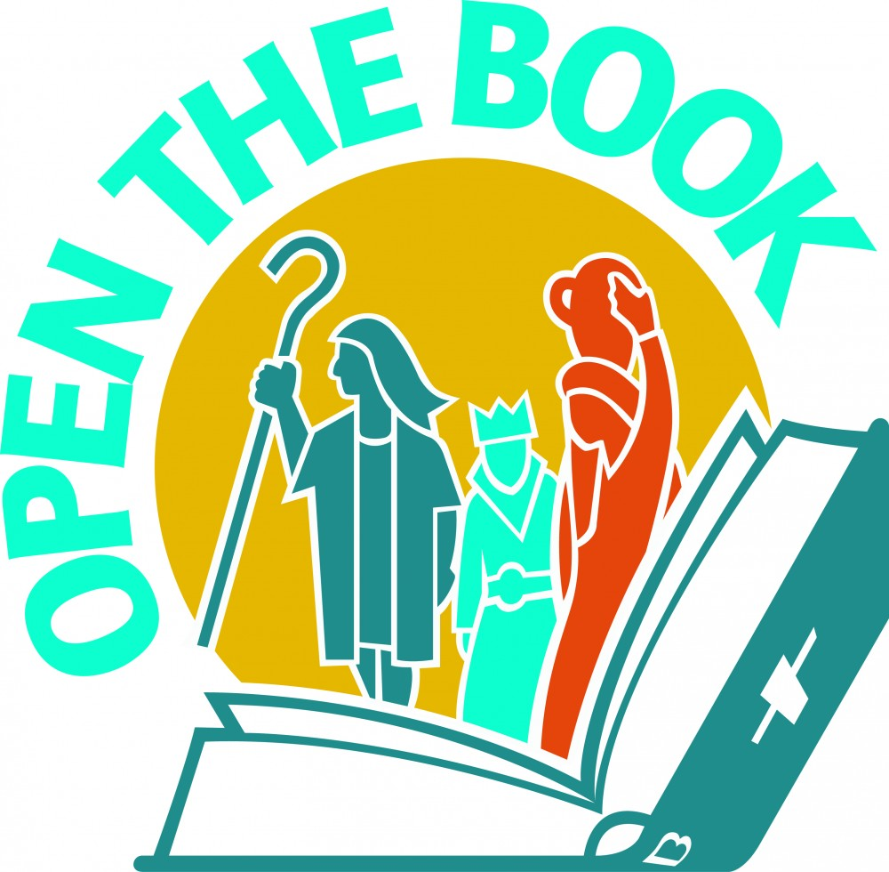 Open the book logo
