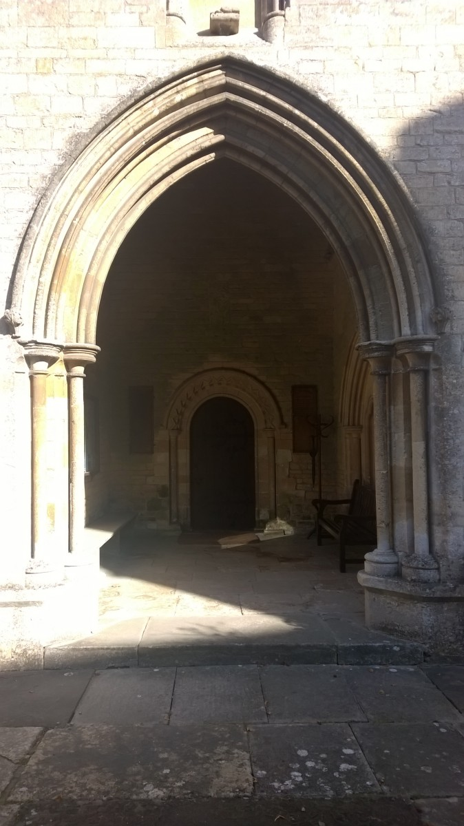 Photo of the Porch All Saint's Kemble