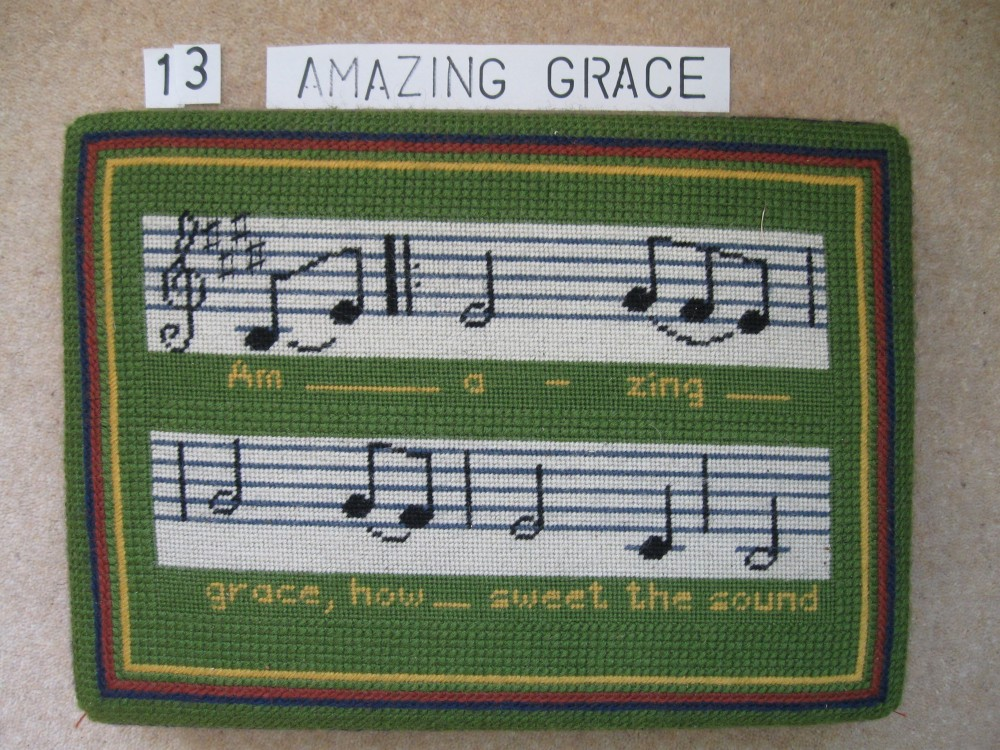 Kneeler 13 Amazing Grace