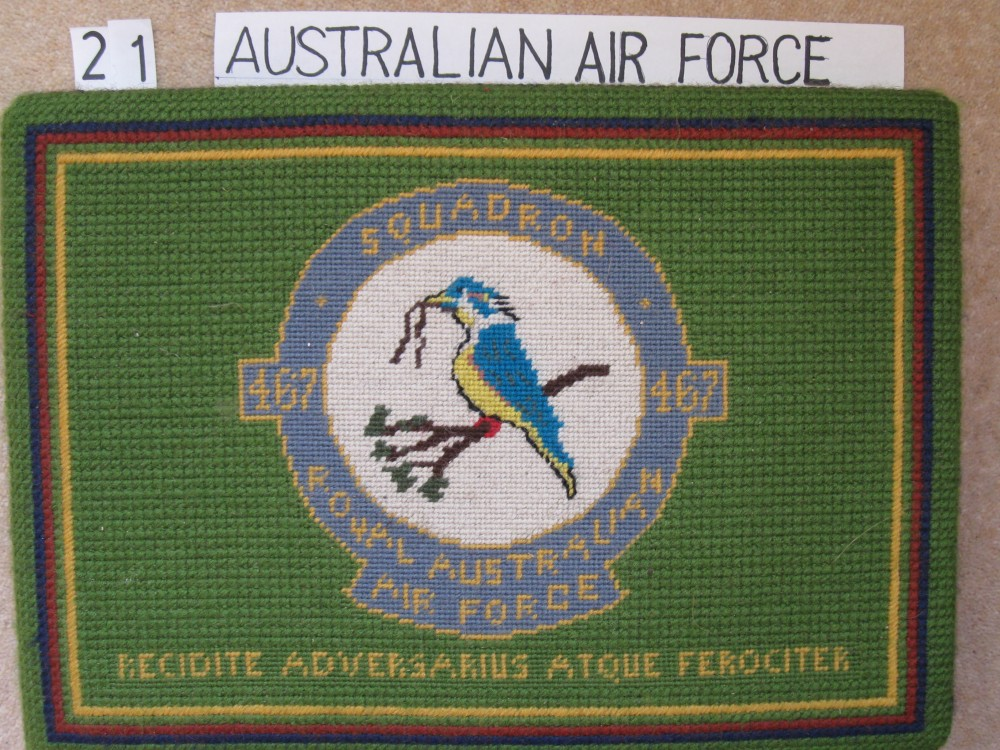 Kneeler 21 Australian Air Force