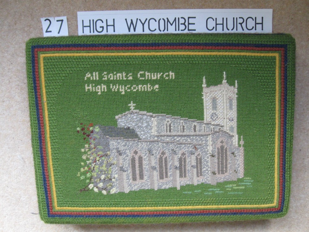 Kneeler 27 High Wycombe Church