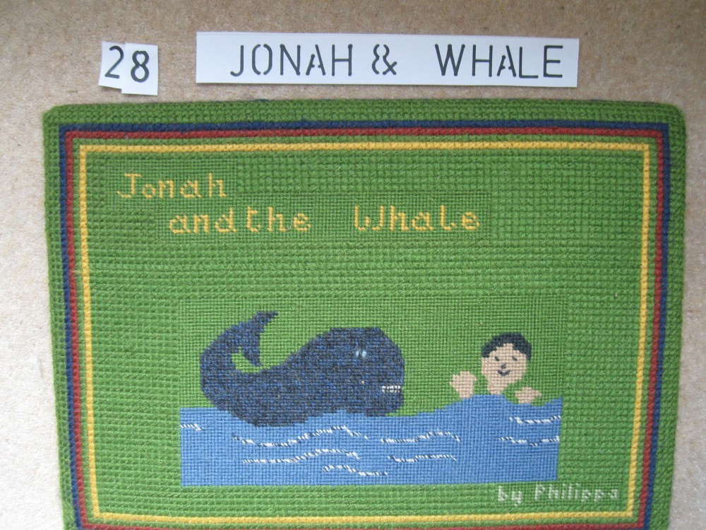 Kneeler 28 Jonah and the Whale