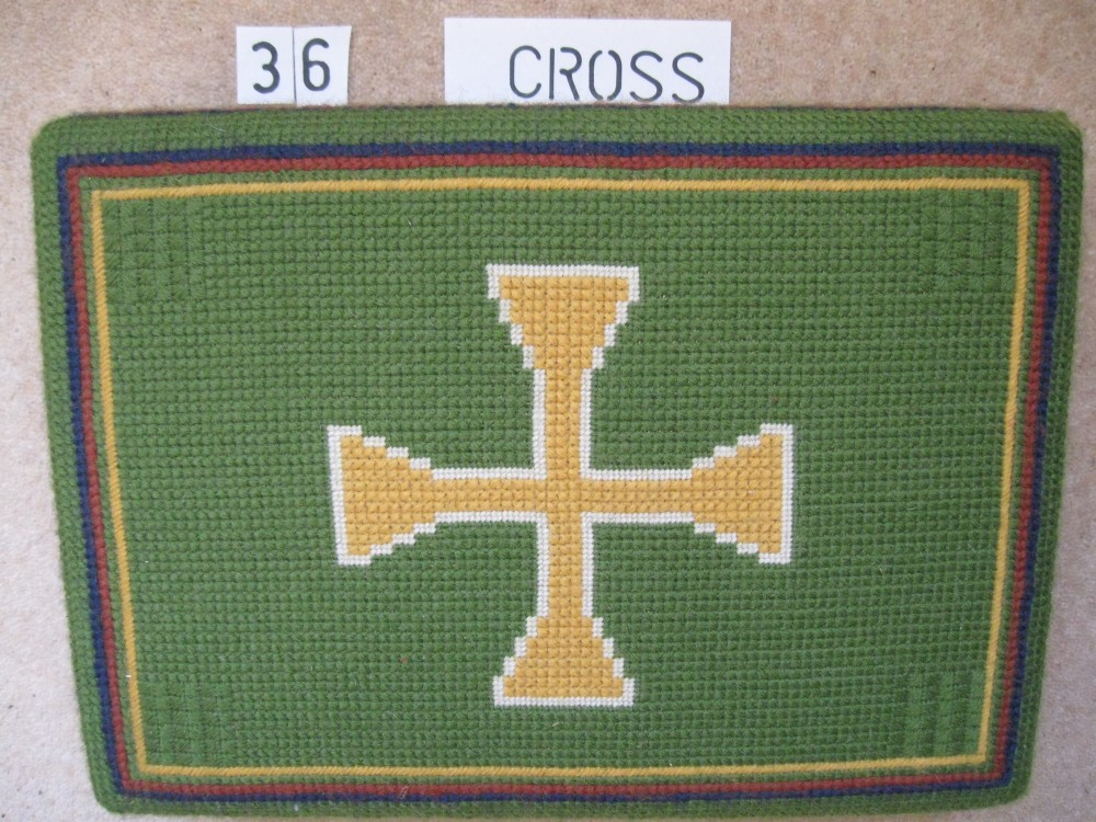 Kneeler 36 Cross
