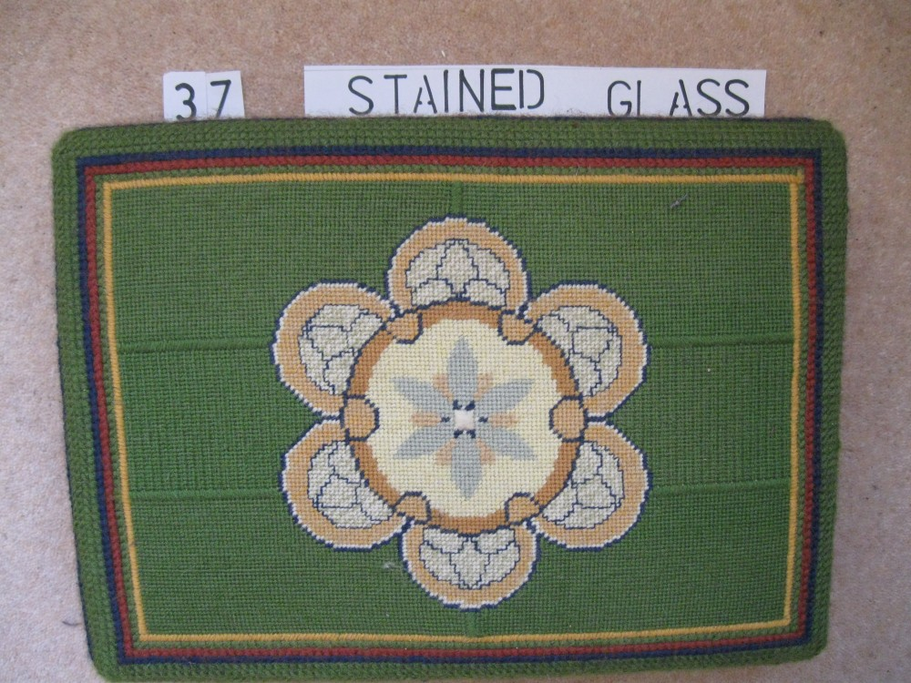 Kneeler 37 Stained Glass