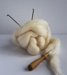 Needle Felting Materials