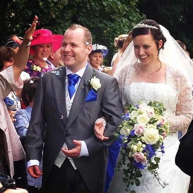 Photo of Bride and Groom.